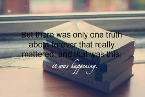 Sarah Dessen's quote