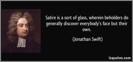 Satirist quote #1