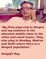 Satyajit Ray's quote
