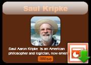 Saul Kripke's quote
