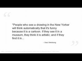Saul Steinberg's quote