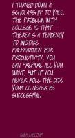 Scholarship quote #2