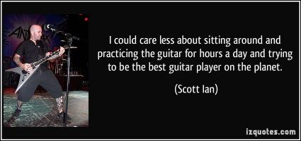 Scott Ian's quote