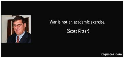 Scott Ritter's quote