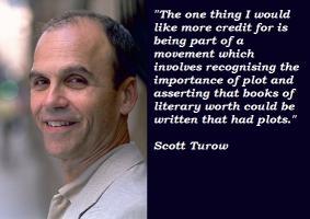 Scott Turow's quote