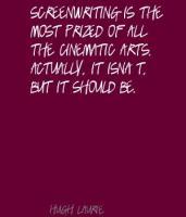 Screenwriting quote #2