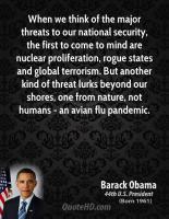 Security Threat quote #2