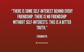 Self-Interest quote #2