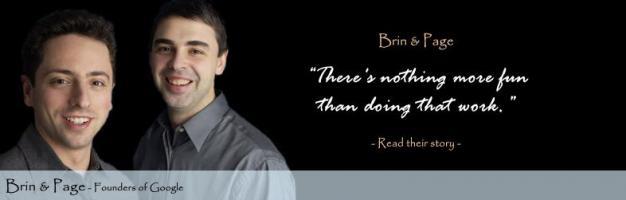 Sergey Brin's quote