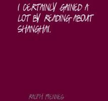 Shanghai quote #1
