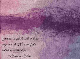Sharon Stone's quote