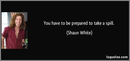 Shaun White's quote