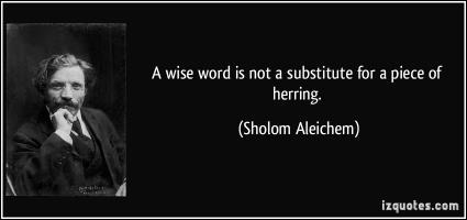 Sholom Aleichem's quote