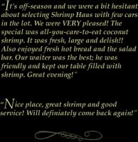 Shrimp quote #1