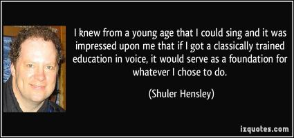 Shuler Hensley's quote #3