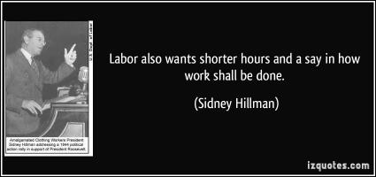 Sidney Hillman's quote #1