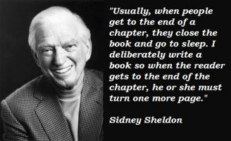 Sidney Sheldon's quote