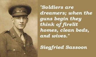 Siegfried Sassoon's quote