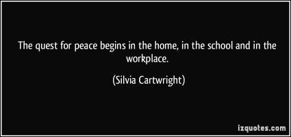 Silvia Cartwright's quote