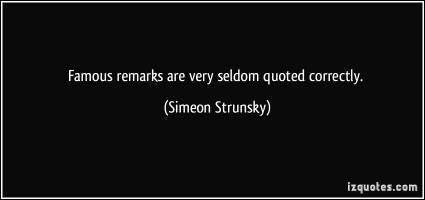 Simeon Strunsky's quote