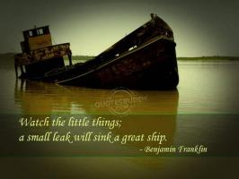 Sinking quote #1