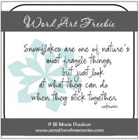 Snowflake quote #1