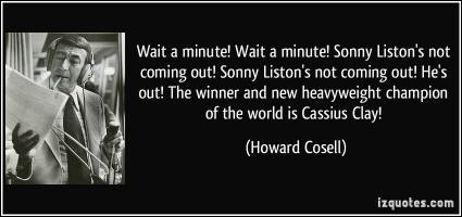 Sonny Liston's quote