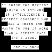 Sophia Bush's quote