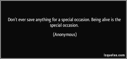 Special Occasion quote #2