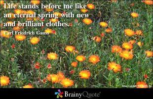 Springtime quote #1