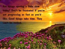 Stagnant quote #1