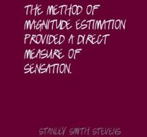 Stanley Smith Stevens's quote #1