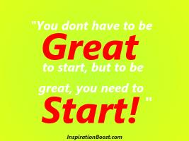 Started quote