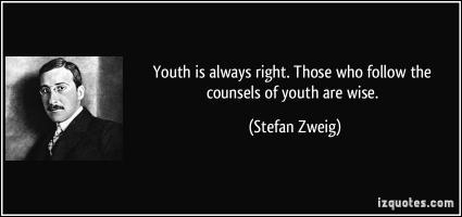 Stefan Zweig's quote
