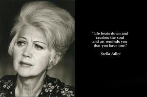 Stella Adler's quote