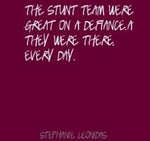 Stephanie Leonidas's quote #1