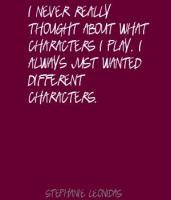 Stephanie Leonidas's quote