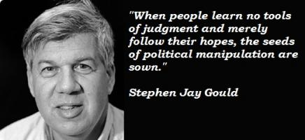 Stephen Jay Gould's quote