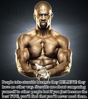 Steroids quote #2