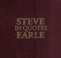 Steve Earle's quote