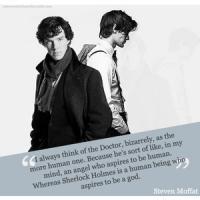 Steven Moffat's quote