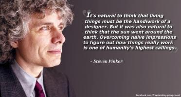 Steven Pinker's quote