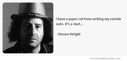 Steven Wright's quote