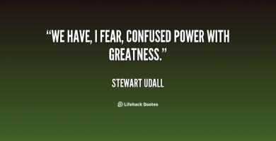 Stewart Udall's quote