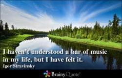 Stravinsky quote #2