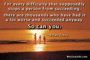 Succeeding quote #4