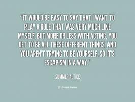 Summer Altice's quote
