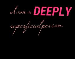 Superficial quote #2