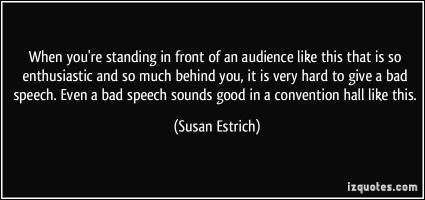 Susan Estrich's quote