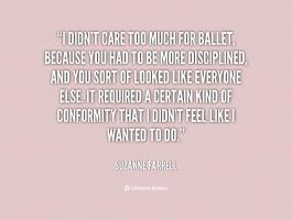 Suzanne Farrell's quote